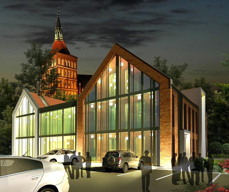 Projekt koncepcyjny kamienic przy ul. Staszica w Olsztynie
