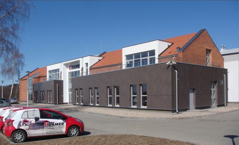 Siedziba firmy KRAMER w Gietrzwałdzie