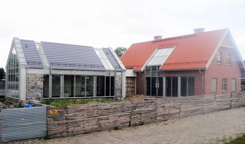 Budynek biurowy Skansen w Olsztynku