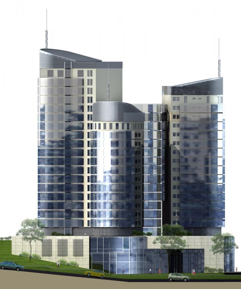 Centrum Biurowo-Hotelowo-Mieszkaniowe w Olsztynie ul. Głowackiego
