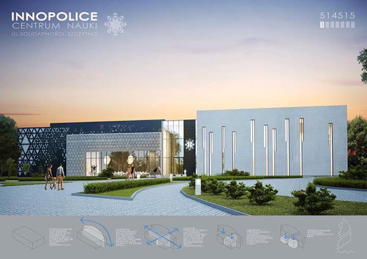 Wygrany konkurs na projjekt budynku InnoPolice w Szczytnie.