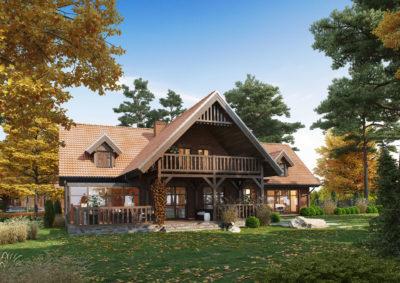 projekty domów na Warmii i Mazurach
